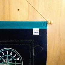 "Seattle Mariner Budweiser Bud Light Banner  Approx: 24""x 35""  Wall Hanging Disp image 3"