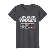 New Shirts - Level 20 Complete Retro Video Gamer 20th Birthday Gift Shirt Wowen image 1