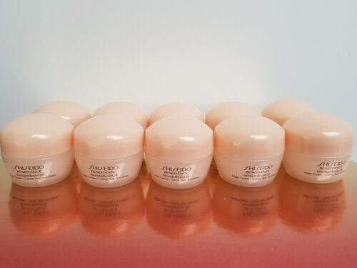 Primary image for Shiseido Benefiance Night Cream 10ml x 10 pieces