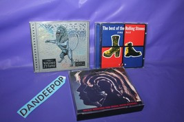 4 The Rolling Stones Music CD's Best Of Hot Rocks Bridges To Babylon - $24.74