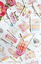 Set of 3 Gift Tag Book - $25.70 CAD