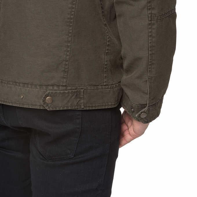 Levi's Mens Jacket Full Zip Green Cheap