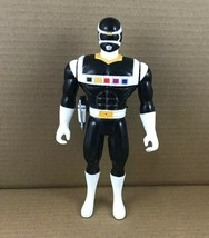 """Mighty Morphin Power Rangers In Space 9"""" Black Ranger Action Figure 1998 Bandai - $12.72"""