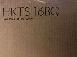 Harman Kardon HKTS 16BQ 5.1 Channel Home Theater Speaker Package Black-Brand New