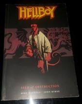 1999 Hellboy Seed of Destruction Dark Horse Comics Mignola Byrne TPB VF+ - $13.99