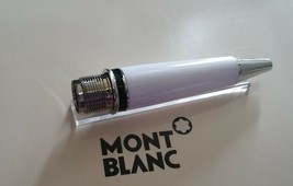 MontBlanc pen replacement spare parts Mont Blanc Low Barrel  White Plati... - $74.67