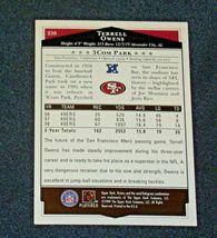 San Francisco 49er's Terrell Owens #81 WR Football Trading Cards AA-191804 Vinta image 10
