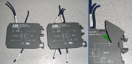 QTY 2 ABB Entrelec OBC1000-24VDC 1SNA608018R1700 Opto Coupler Solid State Relay - $30.00