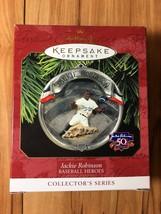 Hallmark Keepsake Ornament - Jackie Robinson Baseball Heroes 1997  - New - $8.99
