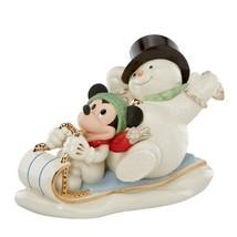 Lenox Snowy Day with Mickey Figurine - $98.01