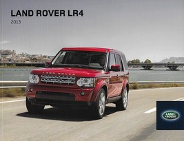 2013 Land Rover LR4 sales brochure catalog US 13 Discovery - $12.00