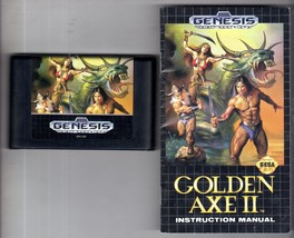 Golden Axe II - Sega Genesis Game  - $9.95