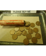 1955-D LINCOLN CENT ROLL        >> S & H + C/S  - $4.50