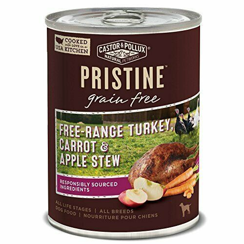 Primary image for Castor and Pollux Pristine Grain-Free Free-Range Turkey, Carrot & Apple Stew