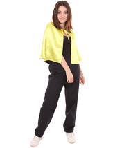 Adult Women's Vampire Cape Costume | Yellow & Black Halloween Costume HC-760 - £21.86 GBP
