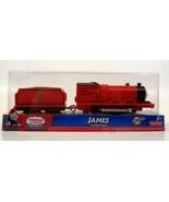 THOMAS & FRIENDS TRACKMASTER MOTORIZED JAMES TRAIN - NEW / SEA;ED - $67.88