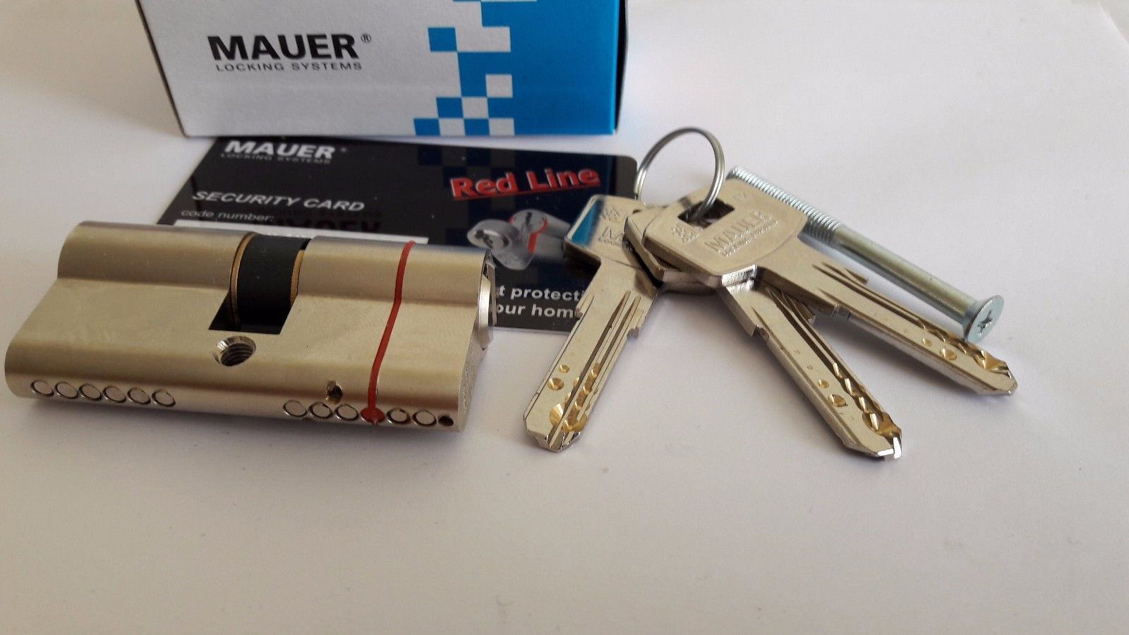 MAUER ELIT 2 Red Line High Security Break and 50 similar items