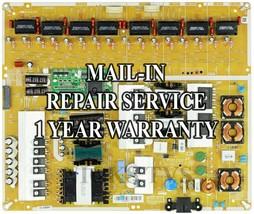 Mail-in Repair Service Samsung BN44-00743A Power Supply UN65H8000 UN65H8... - $99.95