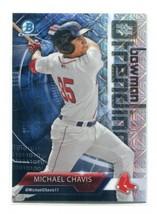 MLB MICHAEL CHAVIS 2018 Bowman Chromw Trending INSERT ROOKIE REFRACTOR MNT - $1.25