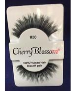 CHERRY BLOSSOM FALSE EYELASHES CHOOSE 1 TO 10 PAIRS OF QTY of  #30 LASHES - $1.57+