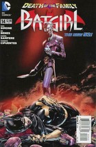 Batgirl (4th Series) #14 (2nd) FN; DC | save on shipping - details inside - $3.75