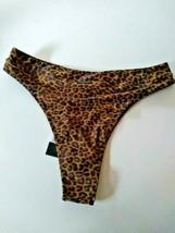 Kendall + Kylie Leopard Swim Bikini Bottoms Size Large image 2