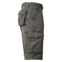 Men's Cotton Multi Utility Pockets Relaxed Fit Casual Outdoor Army Cargo Shorts image 13