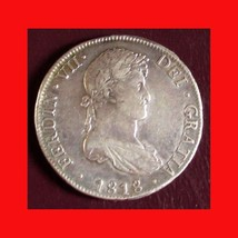1818-PTS Bolivia 8 Reales - Ferdinand VII. 0.8960 Silver KM #84 - 2047 - $77.00