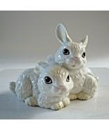 "Easter W Goebel W Germany Rabbits Hares Figurine Fine Porcelain 3 7/8"" 3... - $49.49"