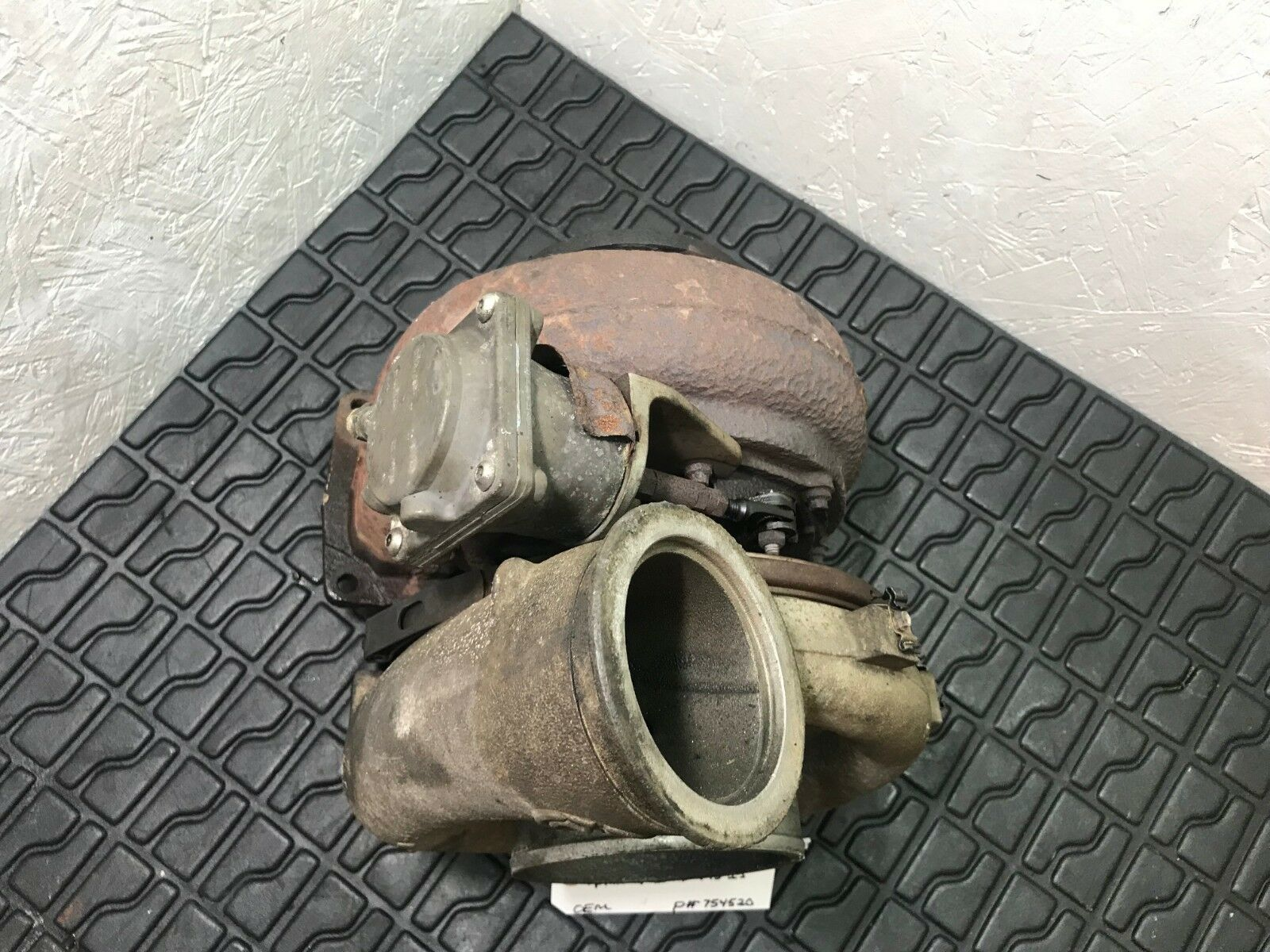 FOR PARTS ONLY Detroit Diesel Series 60 12.7 GARRETT Turbocharger 754520 OEM image 4