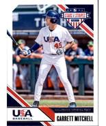 Garrett Mitchell 2020 Panini Stars & Stripes Card #8 - $0.99