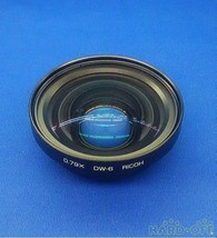 RICOH Wide  Lens Camera Accessories DW-6 from Japan F/S in good condition - $155.17