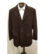 Cole Haan Brown Corduroy Jacket - $59.00