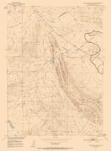 Topo Map - North West Emigrant Gap Wyoming Quad - USGS 1951 - 23.00 x 31.30 - $36.58+