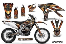 Dirt Bike Graphics Kit Decal Sticker Wrap For Yamaha WR450F 2012-2015 FI... - $168.25