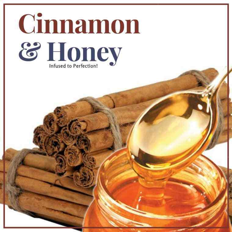 1 LB CINNAMON INFUSED HONEY