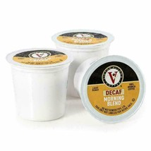 Victor Allen DECAF Morning Blend Coffee 12 to 200 Ct Keurig Kcup Pods FREE SHIP - $13.98+