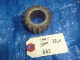 90-95 JDM Honda Civic B16 timing gear pulley fluctuation gear B18C VTEC ... - $39.99