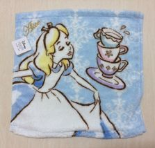 Disney Alice in Wonderland Handkerchief, Hand Towel. Tea Time. Pretty, Rare NEW - $15.00