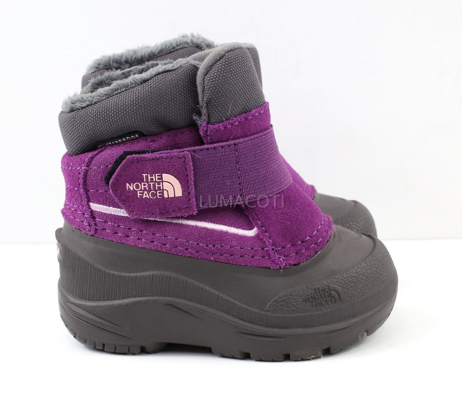 Toddler The North Face Alpenglow Boots - Icee Blue/ Q-Silver Grey Size 7