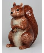 6 Inch Ceramic Squirrel Savings Piggy/Coin/Money Bank, Brown - $21.77