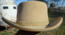 Nice Almond Stetson Western Hat (Eclectic Trading Company # 0025) - $50.00
