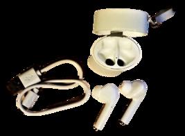 TWS True Wireless Stereo Earphones V5.0+EDR, Earbuds, White image 1