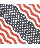 Patriotic Stars And Stripes Bandana - $3.00