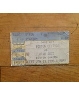 1995 Boston Celtics VS Utah Jazz Ticket Stub Game 17  Boston Garden  Jan, 13th  - $21.76
