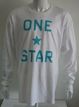 Converse One Star Mens Graphic Tee White 100% Cotton Size XL T-Shirt - $21.47