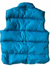 NWT NEW Vintage Women Blue Goose Down L.L. Bean Vest Sz M Medium image 3