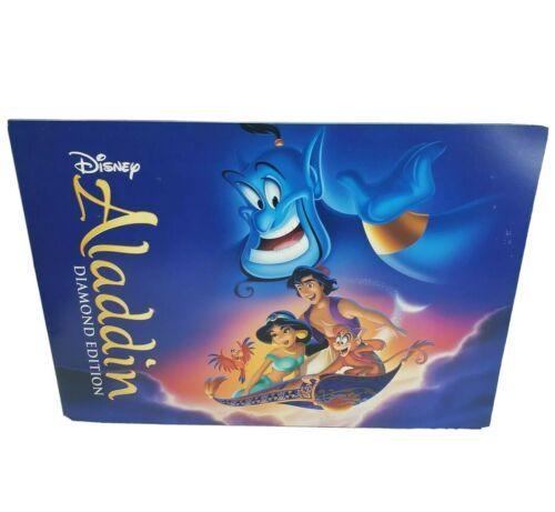 Disney ALADDIN Diamant Édition Set 4 Lithographs Film Scènes 11 x 14 Jasmin - $36.12