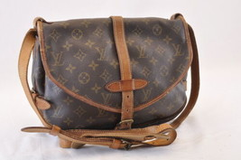 LOUIS VUITTON Monogram Saumur 30 Shoulder Bag M42256 LV Auth 6780 - $210.00
