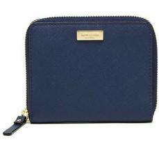 NWT Kate Spade Laurel Way Darci Saffiano Leather Wallet Oceanic Blue WLR... - $51.99
